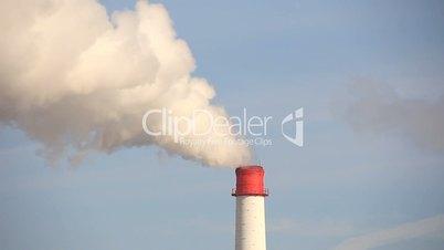 tail area factory smoke