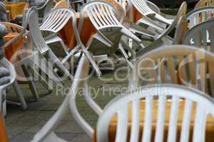 Café-Stühle