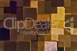 brown squares