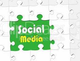 Social Media - eBusiness Concept