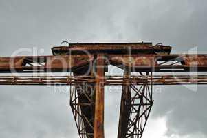 rusty gantry