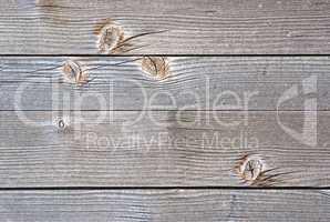 Altes Holzbrett mit Astlöchern - Timber Wood