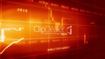 Aktueller Stand der Weltbörsen