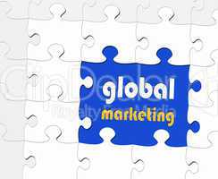 global marketing - Business Concept