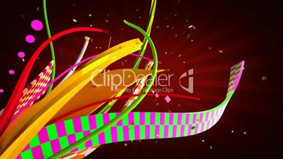 Celebration ribbons