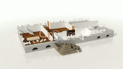 Constructing house