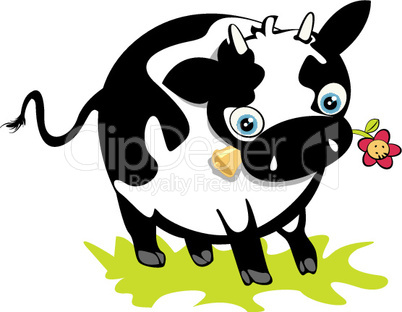 Cute cow.eps