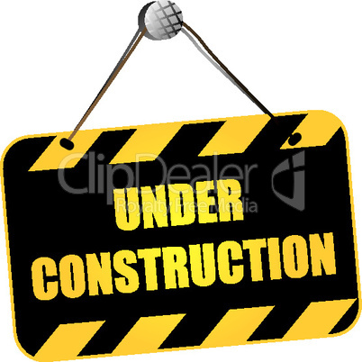 Under construction sign.eps