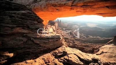 Natural Mesa Arch at Sunrise