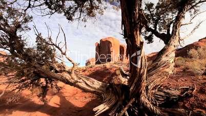 Scenic Beauty of Monument Valley, Arizona