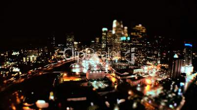 Elevated Time-lapse of Los Angeles at Night