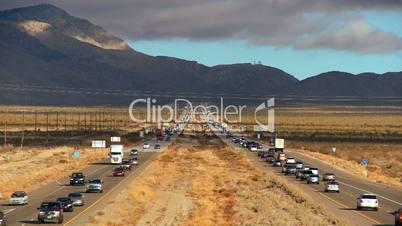 Desert Traffic Pollution