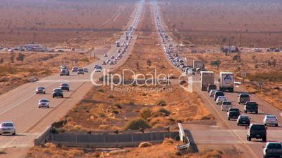 Desert Traffic Pollution