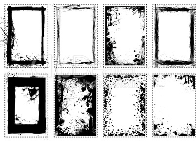 Splat grange picture frame