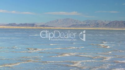 Flat Lands of a Vast Salt Lake