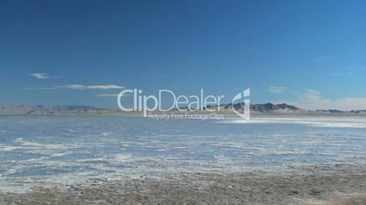 Barren Landscape of Salt Lake Flats