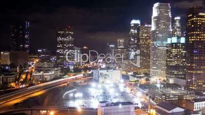 Los Angeles City Night Time-lapse