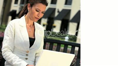 Montage of Female Career & Lifestyle Balance