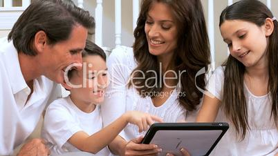 Family Entertainment with Wireless Tablet