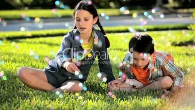 Childhood Fun Soap Bubbles