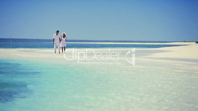 Attractive Couple on Dream Vacation