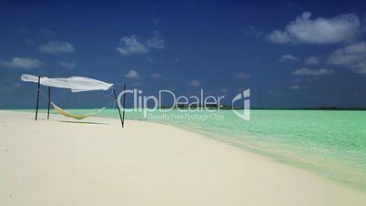 Beach Hammock on Luxury Vacation