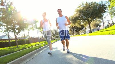 Healthy Couple on Keep Fit Programme