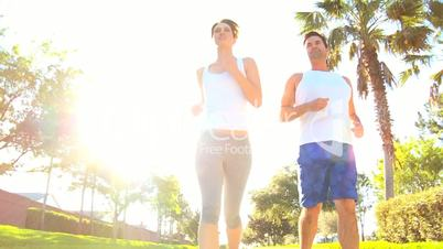 Active Couple on Exercise Programme