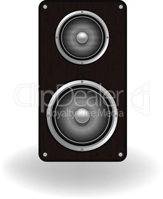 Wooden loud speaker