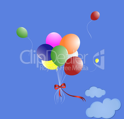 Many-coloured balloons