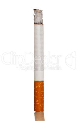 Lighted cigarette
