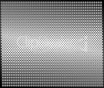 Metal sheet dotted texture