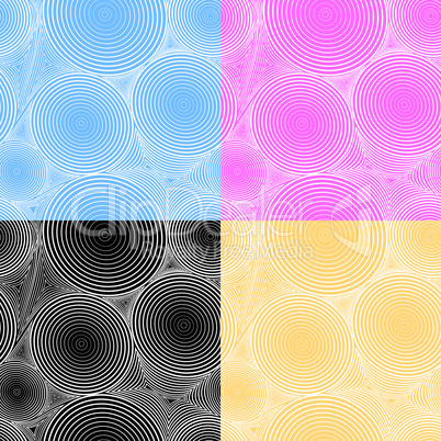 Abstract seamless background with circle