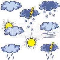 Graffiti weather icon
