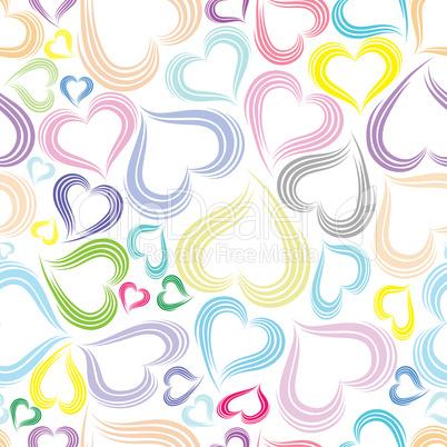 Excellent seamless valentine background
