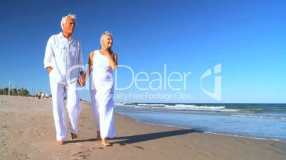 Montage of Senior Couple's Healthy Lifestyle