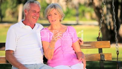Lifestyle Montage of Contented Senior Couple