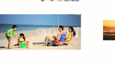 Montage of Beach Lifestyle Activities