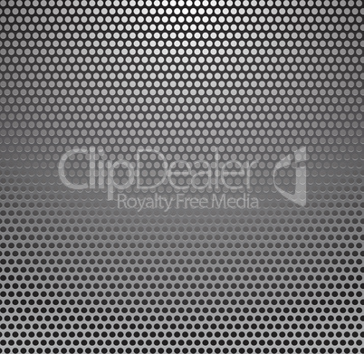 Vector Metal Grill Seamless Pattern. Metallic background.