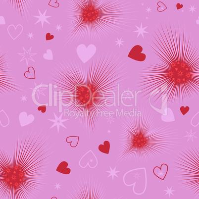Excellent seamless valentine background.