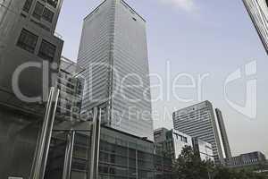 Büro Hochhäuser Business