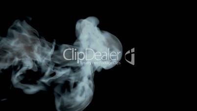 Smoke, high-definition 3d render