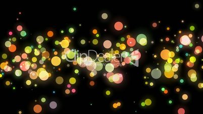 Abstract background particles video. Alpha Channel is included