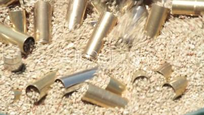 Pistol bullet cartridge brass close cleaning P HD 8316