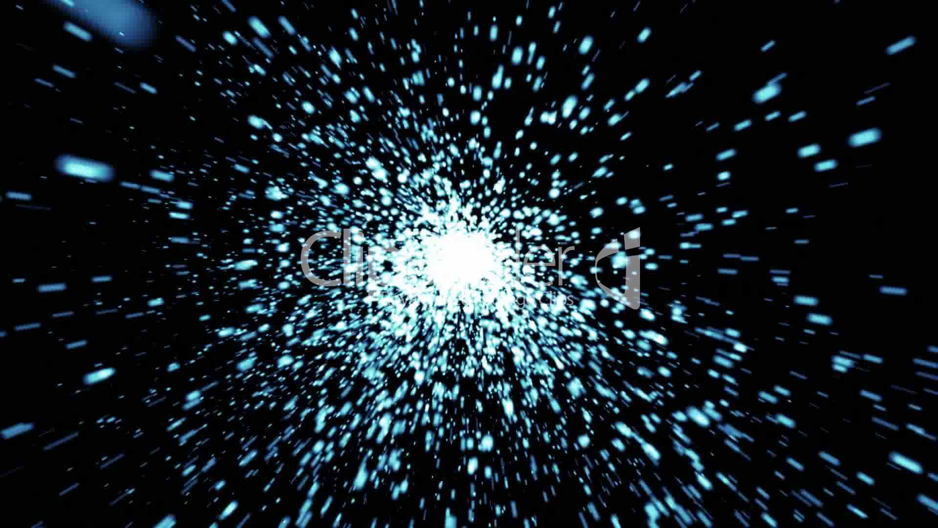 abstract background of space with particles video  royalty