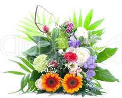 bunter Blumenstrauß / colorful bunch of flowers