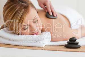 woman enjoy wellness