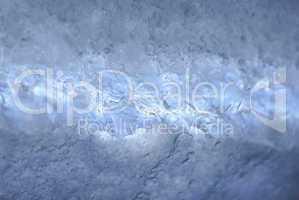 Schnee im Gegenlicht