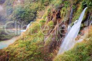 Plitvice Lakes Scenery