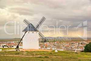 Campo de Criptana Windmühle - Campo de Criptana windmill 04